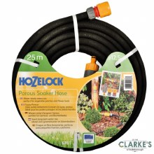 Hozelock Soaker Hose with Connectors 25 Meter