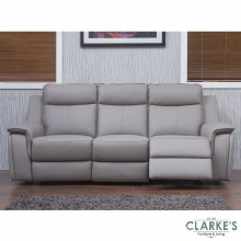 Infinity leather recliner sofa