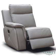 Infinity Left Hand Facing Recliner Module Taupe Grey