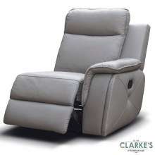 Infinity Right Hand Facing Recliner Module Taupe Grey