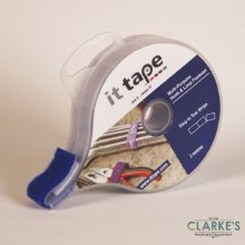 it tape Multi-Purpose Hook & Loop Fastener Blue