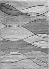 Impulse Waves Grey Rug 67x120cm