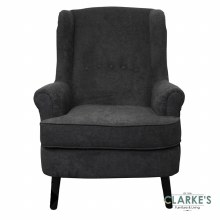 Jenson Armchair Black