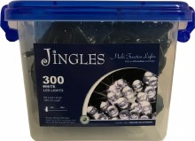 Jingles 300 LED (18m) Christmas Cool White Lights