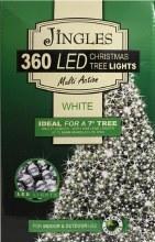 Jingles 360 LED (36m) Christmas Cool White Lights