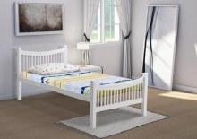 Jordan white 4ft bed frame