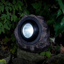 Solar Jumbo Super Bright 15 Lumen Rock Light