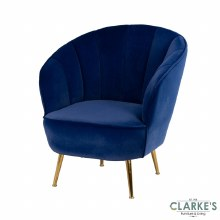 Kendall Accent Chair Royal Blue