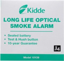 Kidde Long Life Optical Smoke Alarm