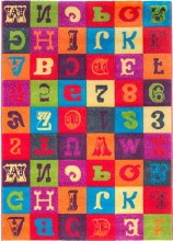 Jazz Alphabet Rug