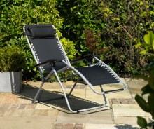 Garden Gravity Sun Chair Lounger