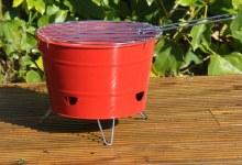 Portable BBQ Bucket