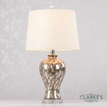 Lela Ceramic Lamp Crystal Base 64cm