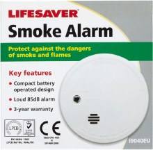 Lifesaver Smoke Alarm