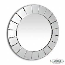 Lilliana Round Wall Mirror 80cm