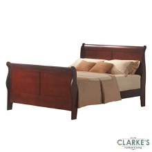 Louis Phelippe 4ft6 Cherry Bed Frame