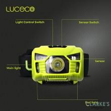 Luceco Head Torch with PIR Sensor