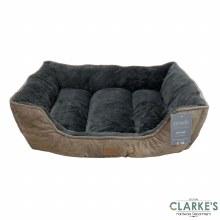 Luxury Style Jumbo Pet Bed Brown