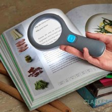 Magni-Light! Magnifying Reading Glass