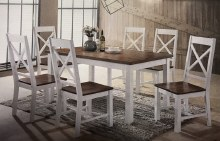 Maine Dining Set. Table & 6 Chairs
