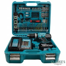Makita 18V Combi Drill with Accessories