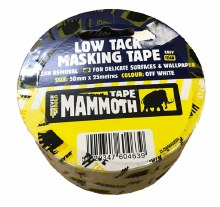 Mammoth Low Tack Masking Tape 50mm