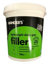 Manger's Ready Mixed Lightweight Deep Gap Filler 1 Litre