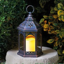 Maroc Garden Battery Lantern