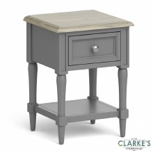 Marseille Lamp Table with Drawer
