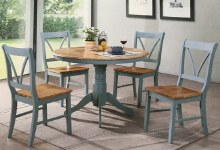 Marseilles Dining Set. Round Table & 4 Chairs
