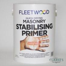 Fleetwood Quick Dry Masonry Stabilising Primer 5 Litre