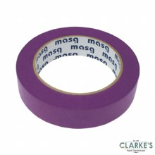 Masq Low Tack Purple Painters Tape 25mm