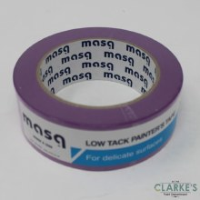 Masq Low Tack Purple Painters Tape 38mm