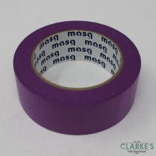 Masq Low Tack Purple Painters Tape 50mm