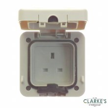 Power Master IP66 Single Outdoor Socket