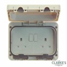 Power Master IP66 Double Outdoor Socket