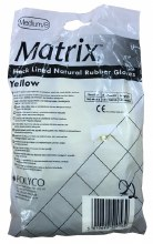 Matrix Rubber Gloves Size 8