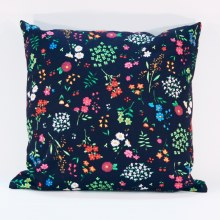 Meadow Flower Midnight Cushion