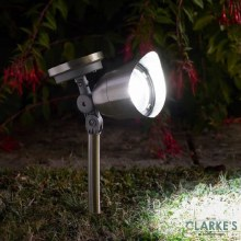 Mega 10L Stainless Sleel Spotlight