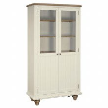 Meghan Oak Display Cabinet