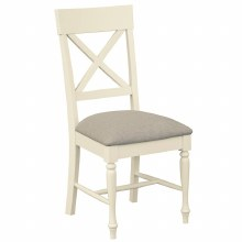 Meghan Oak Padded Dining Chair