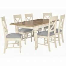 Meghan Oak Rectangular Extending Dining Table140cm