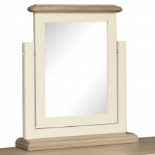Meghan Oak Single Vanity Mirror