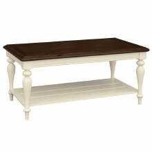 Meghan Walnut Coffee Table