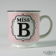 """""""Miss B"""" Alphabet Mug"""