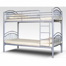 Moby Bunk Bed Silver