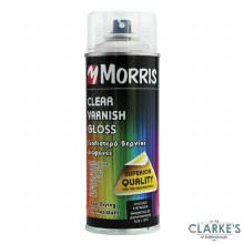 Morris Acrylic Clear Gloss Spray Varnish 400 ml