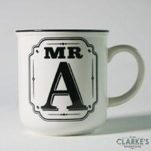 """""""Mr A"""" Alphabet Mug"""