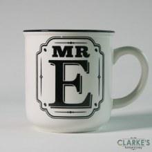 """""""Mr E"""" Alphabet Mug"""