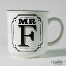 """""""Mr F"""" Alphabet Mug"""